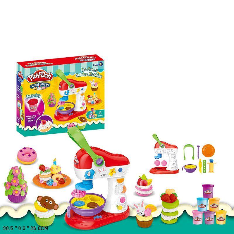 """Игровой набор с пластилином Play Doh """"Машина для мороженого"""" (677-C506)"""