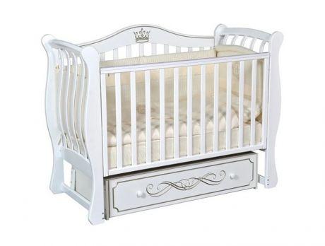Детская кроватка Кедр Bella 2 универсальный маятник