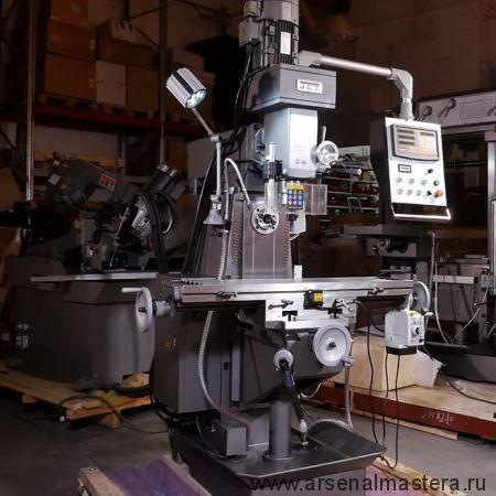 Широкоуниверсальный фрезерный станок 380 В 2,2 кВт  JET JMD-939GHV DRO 50000849T