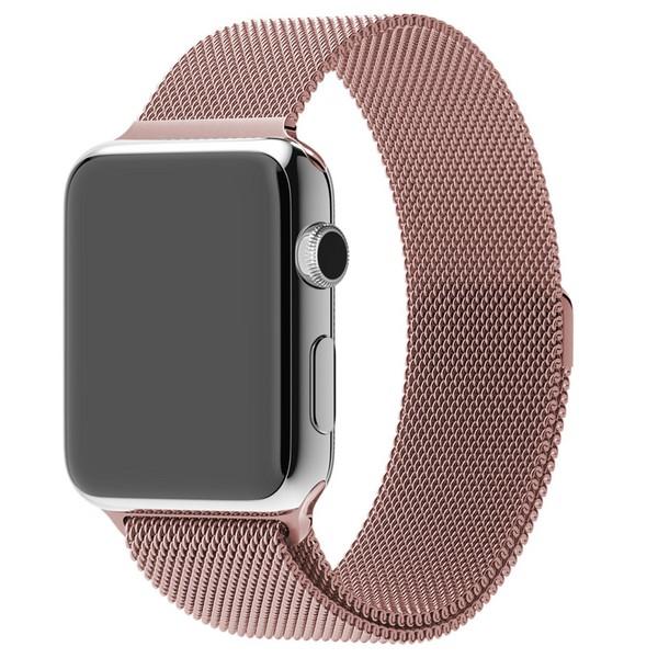 Ремешок миланская петля для часов Apple Watch   42/44mm  Rose Gold