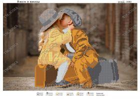 ЮМА ЮМА-3360 Вместе и Навсегда схема для вышивки бисером купить оптом в магазине Золотая Игла - вышивка бисером