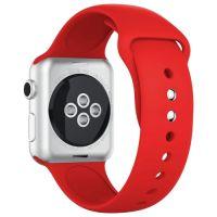 CASEY Ремешок силиконовый для Apple Watch 38/40mm Темно-красный