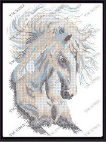 ЮМА ЮМА-3349 Лошадь День схема для вышивки бисером купить оптом в магазине Золотая Игла - вышивка бисером