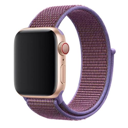 Ремешок нейлоновый для Apple Watch 38/40mm Фиолетовый
