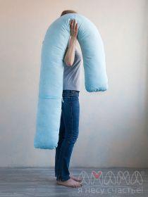 J-Спальная система «Можно положиться» 240см, голубой/вензеля