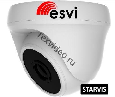Внутренняя IP (2 Mp, 2,8мм, Sony STARVIS IMX307, POE, аудио вх ) EVC-DP-SL20-P/A (BV)