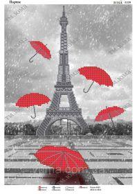 ЮМА ЮМА-3339 Париж схема для вышивки бисером купить оптом в магазине Золотая Игла - вышивка бисером