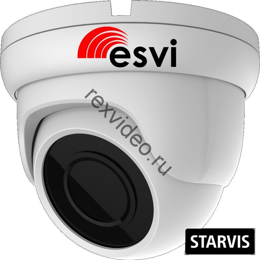 Антивандальная IP (2 Mp, Sony STARVIS IMX307, POE, аудио вх., SD) EVC-DB-SE20-P/A/C