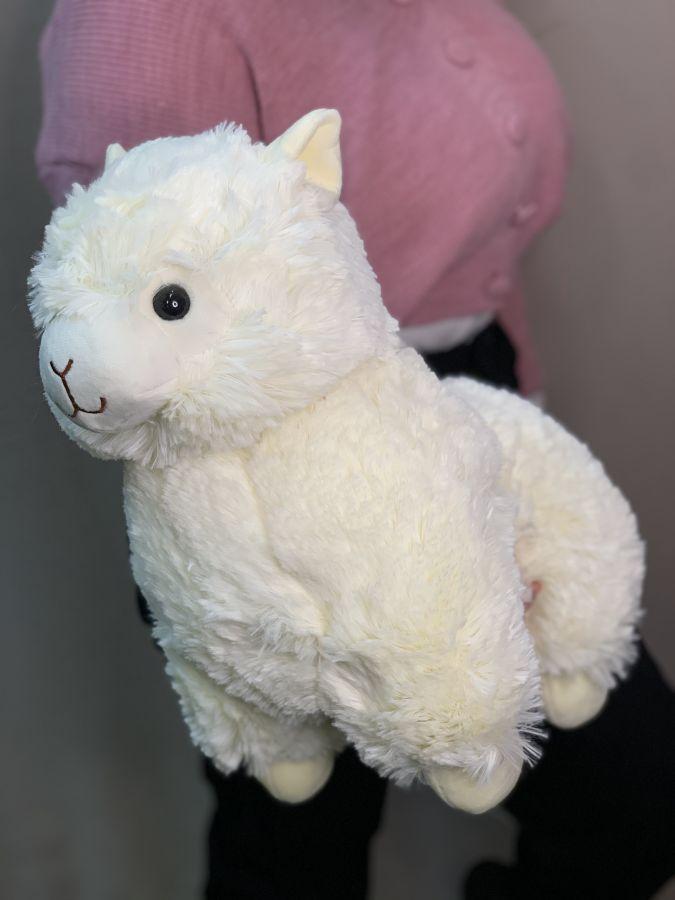 Мягкая Игрушка Лама Альпака Белая