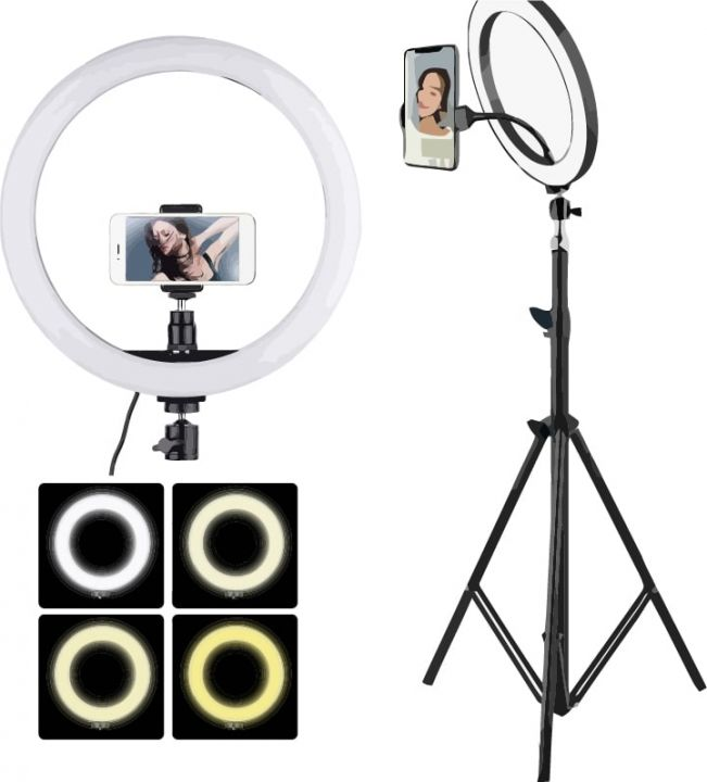 Кольцевая светодиодная лампа Ring Supplementary Lamp 26 см