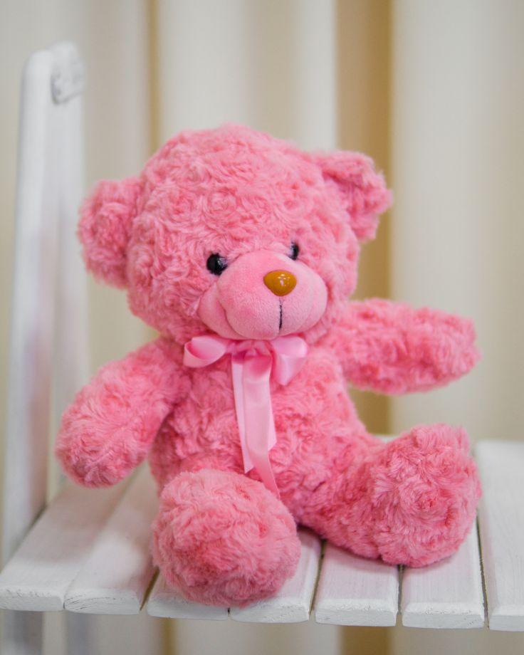 """Мягкая игрушка """"Медведь с бантом"""""""