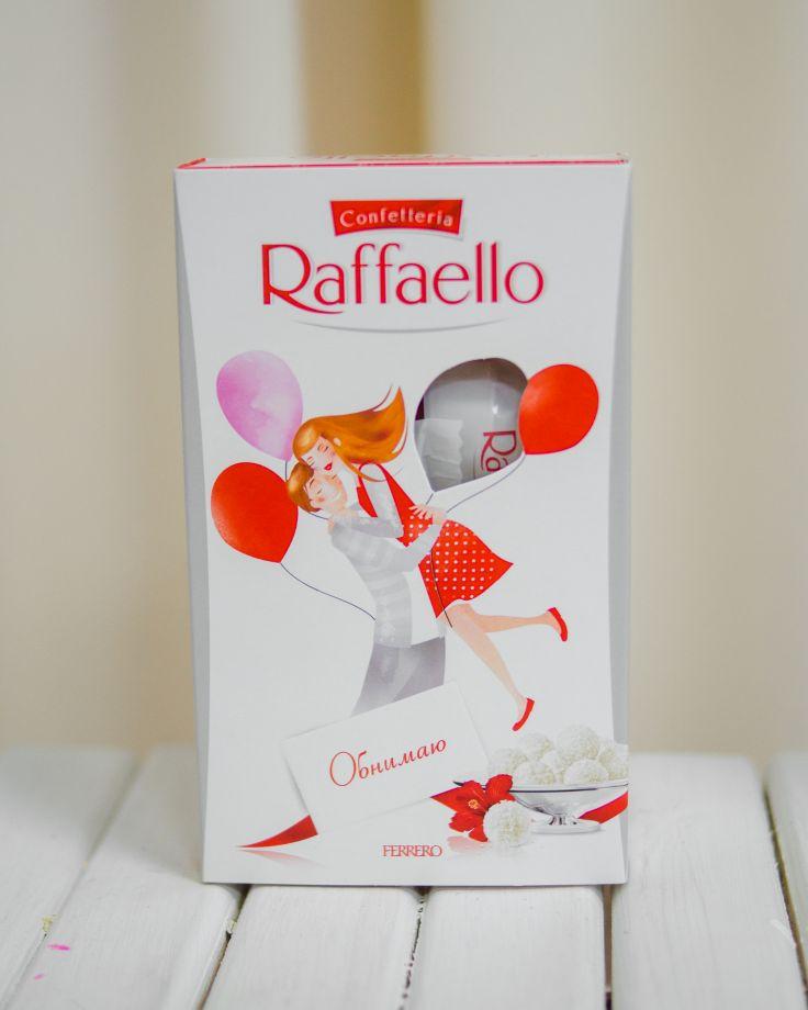 """Конфеты к цветам """"Рафаэлло"""", 70гр"""