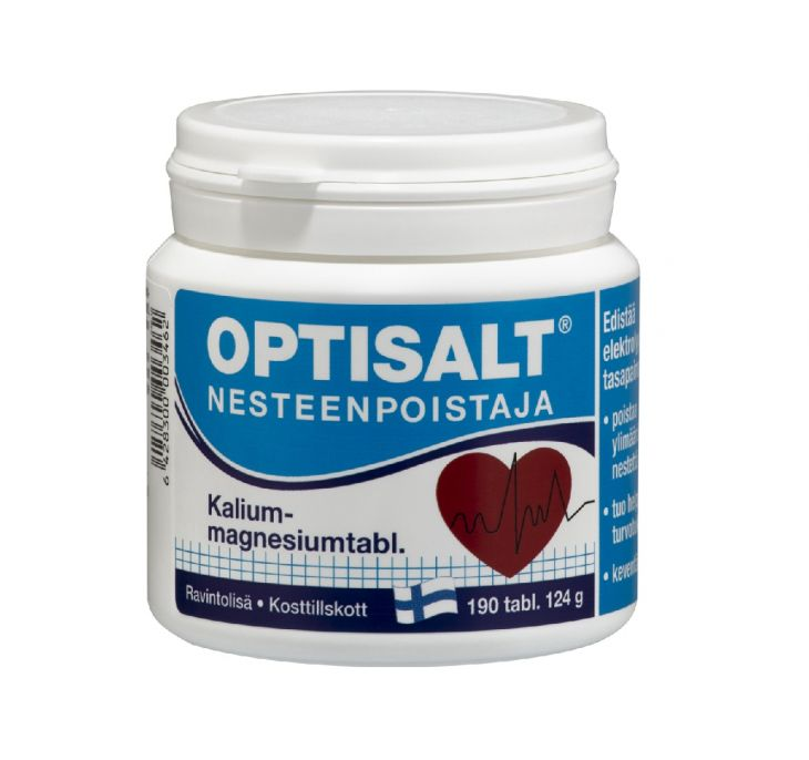Optisalt Vitamin K+ Mg 190 шт 124 gr