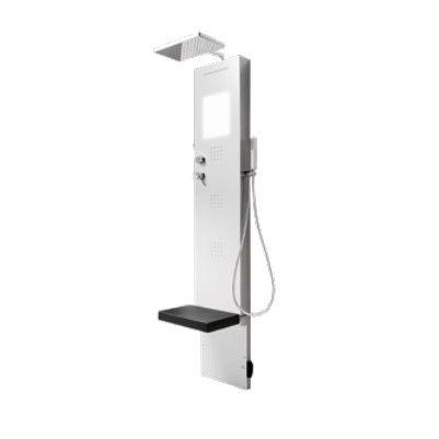Многофункциональная душевая панель Hafro Rigenera 200 4RIB с верхним душем ФОТО