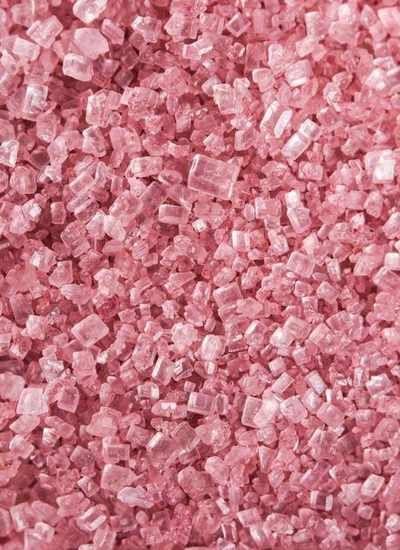 """Посыпка """"Песок крупный розовый"""""""