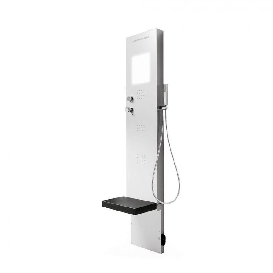 Многофункциональная душевая панель Hafro Rigenera 200 4RIA без верхнего душа ФОТО