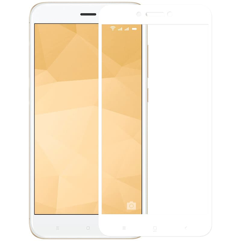 Защитное 3D-стекло для Xiaomi Redmi 4X (White)
