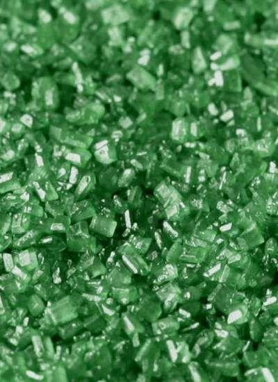 """Посыпка """"Песок крупный зеленый"""""""