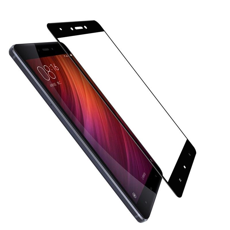 Защитное 3D-стекло для Xiaomi Redmi Note 4X(Black)