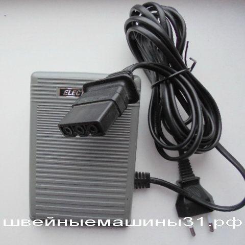 Педаль FDM KD 2902 с разъёмом для машин BROTHER;  1А. 220-240 В.     цена 2400 руб.
