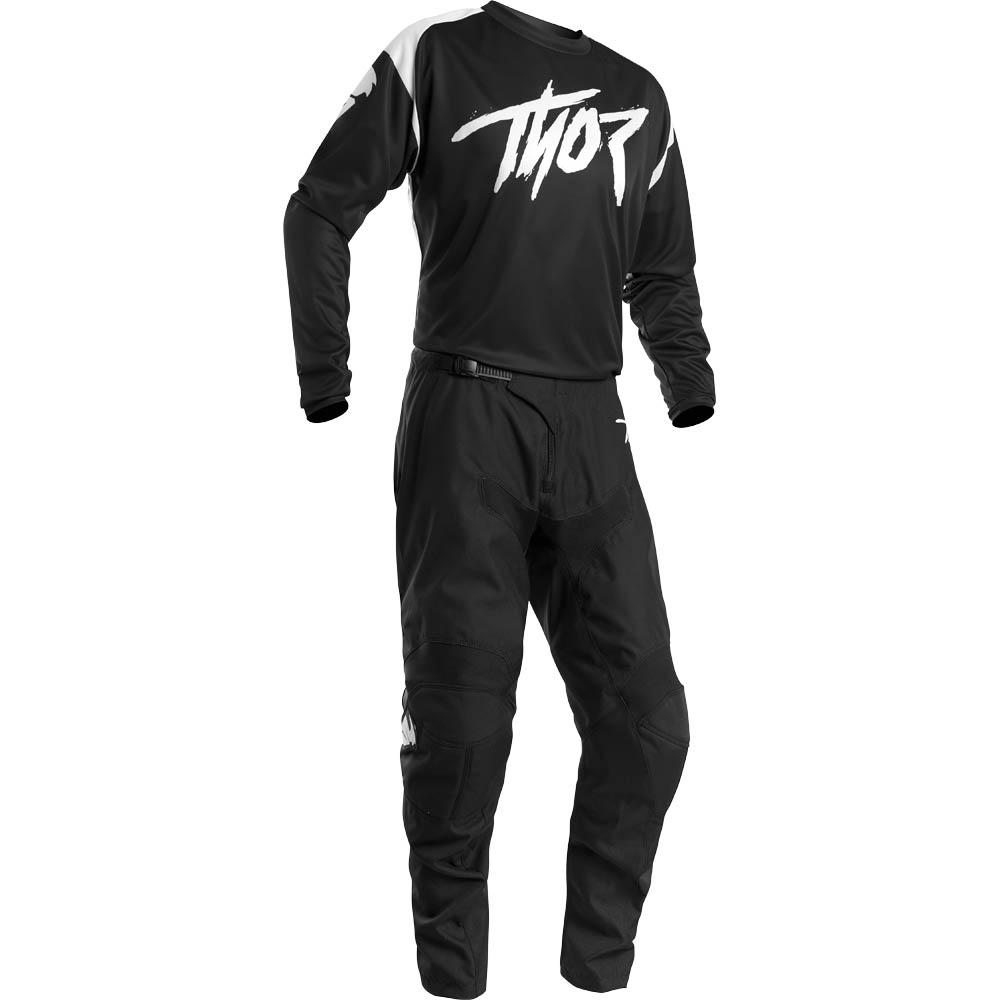 Thor Sector Link Black джерси и штаны для мотокросса
