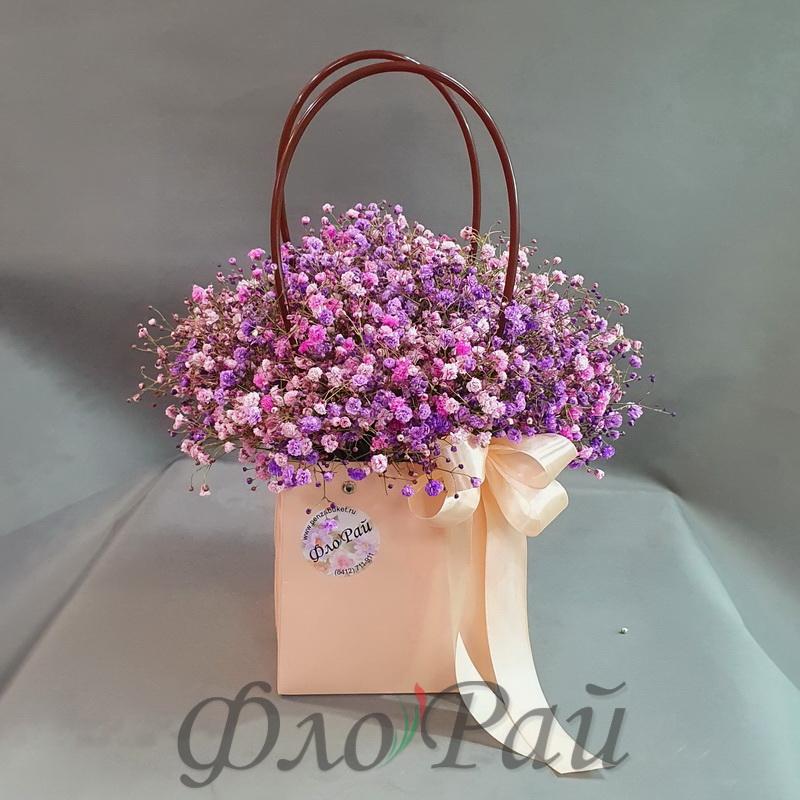 Букет в сумочке