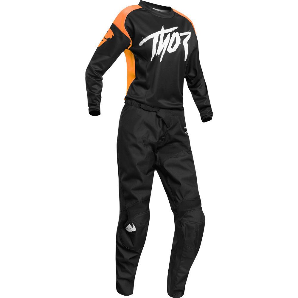 Thor Sector Link Orange джерси и штаны для мотокросса