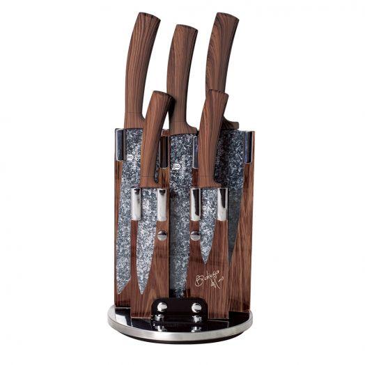 BH-2160 Forest Line Набор ножей на подставке 6 пр.