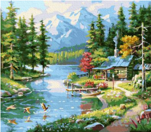 Картина по номерам на холсте GX37768