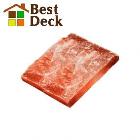 Плитка из гималайской соли 200*200*25 мм Рустик