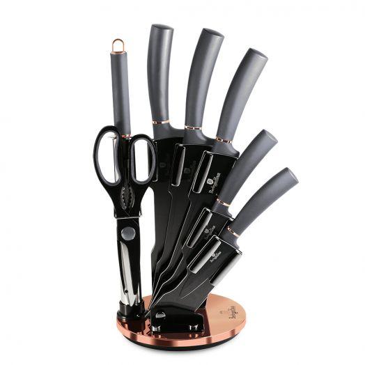 BH-2566 Moonlight Collection Набор ножей на подставке 8 пр.