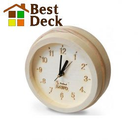 Часы вне сауны SAWO 531-A из осины