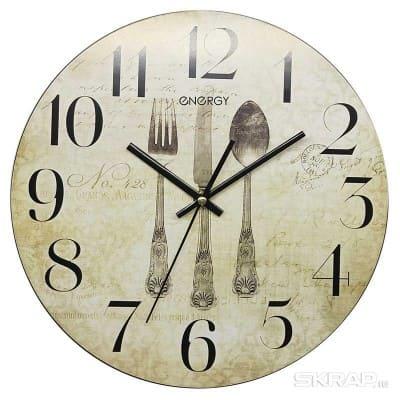 Часы настенные кварцевые ENERGY модель ЕС-131 круглые