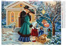 ЮМА-3325. Рождество в Семейном Кругу. А3