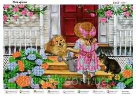ЮМА ЮМА-3322 Мои Друзья схема для вышивки бисером купить оптом в магазине Золотая Игла - вышивка бисером