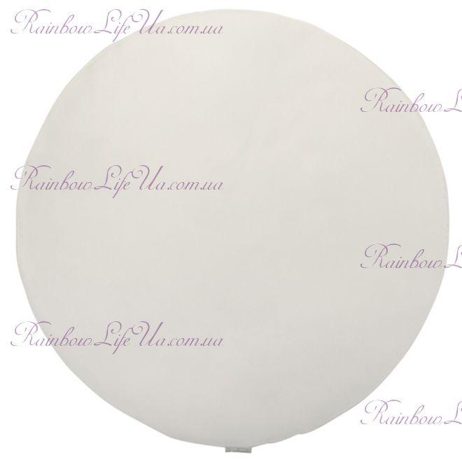 Скатерть 150 см белая круглая