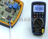 АММ-1139 Мультиметр цифровой - Измерение температуры фото