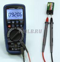 АММ-1139 Мультиметр цифровой - Измерение напряжения постоянного тока фото