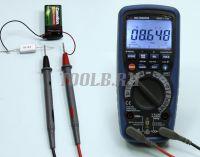 АММ-1139 Мультиметр цифровой фото- Измерение напряжения переменного тока