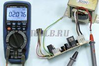 АММ-1139 Мультиметр цифровой - Измерение переменного тока фото
