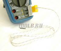 АММ-1139 Мультиметр цифровой - Подключение термопары фото