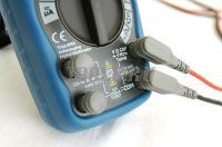 АММ-1139 Мультиметр цифровой - Входные разъёмы с защитой от пыли и влаги фото