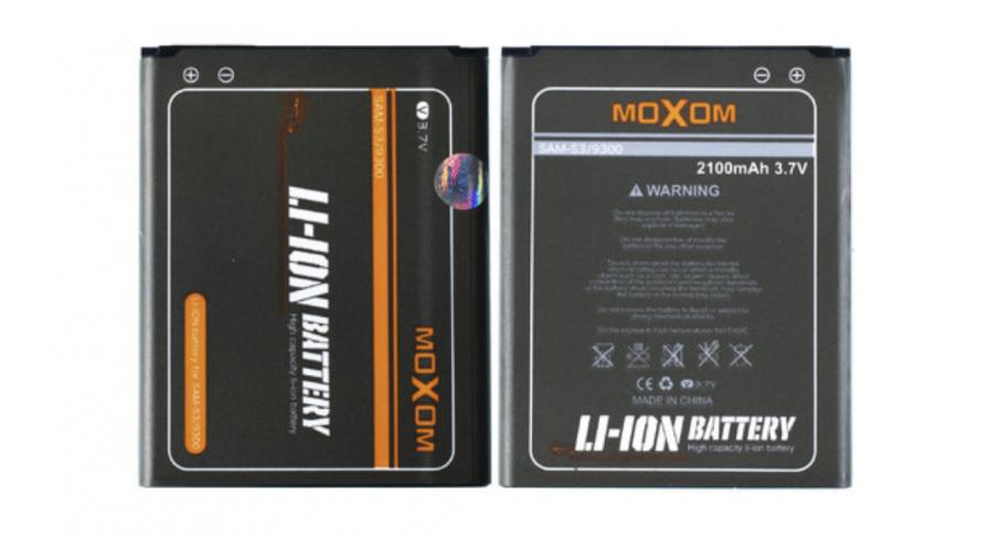 Аккумулятор Samsung i9300 Galaxy S3 (EB-L1G6LLU) Moxom