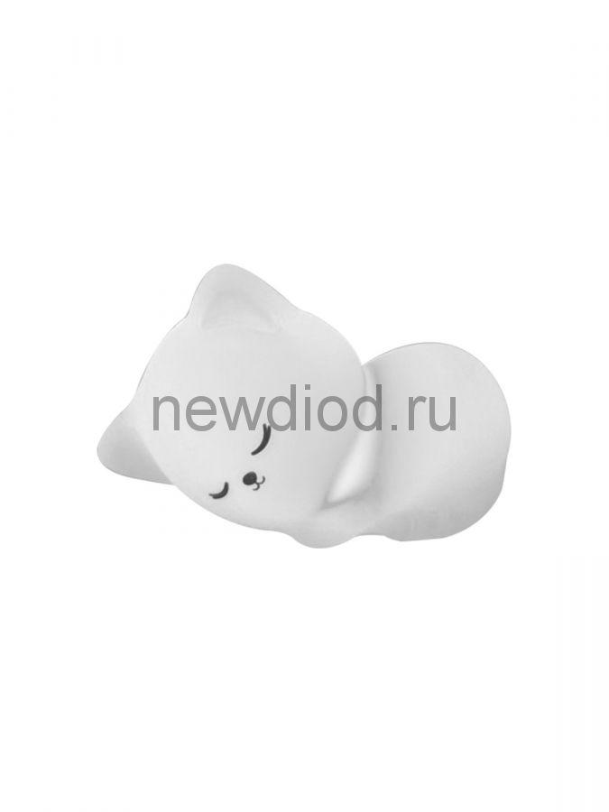Светодиодный светильник - ночник SLEEPING CAT 1W 7COLORS/WW-USB-IP20