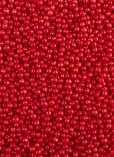 """Посыпка """"Шарики красные"""" 1мм"""