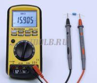 АММ-1130 Мультиметр - Измерение ёмкости фото