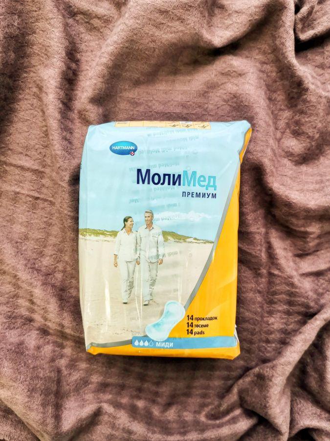 MOLIMED Premium midi - Урологические прокладки 14 шт.