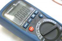 АММ-1028 Мультиметр цифровой - ЖКИ и кнопки управления фото