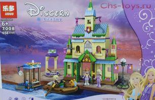 Конструктор LEDUO Princess2 Деревня в Эренделле 7008 (Аналог LEGO Disney Princess 41167) 658 дет