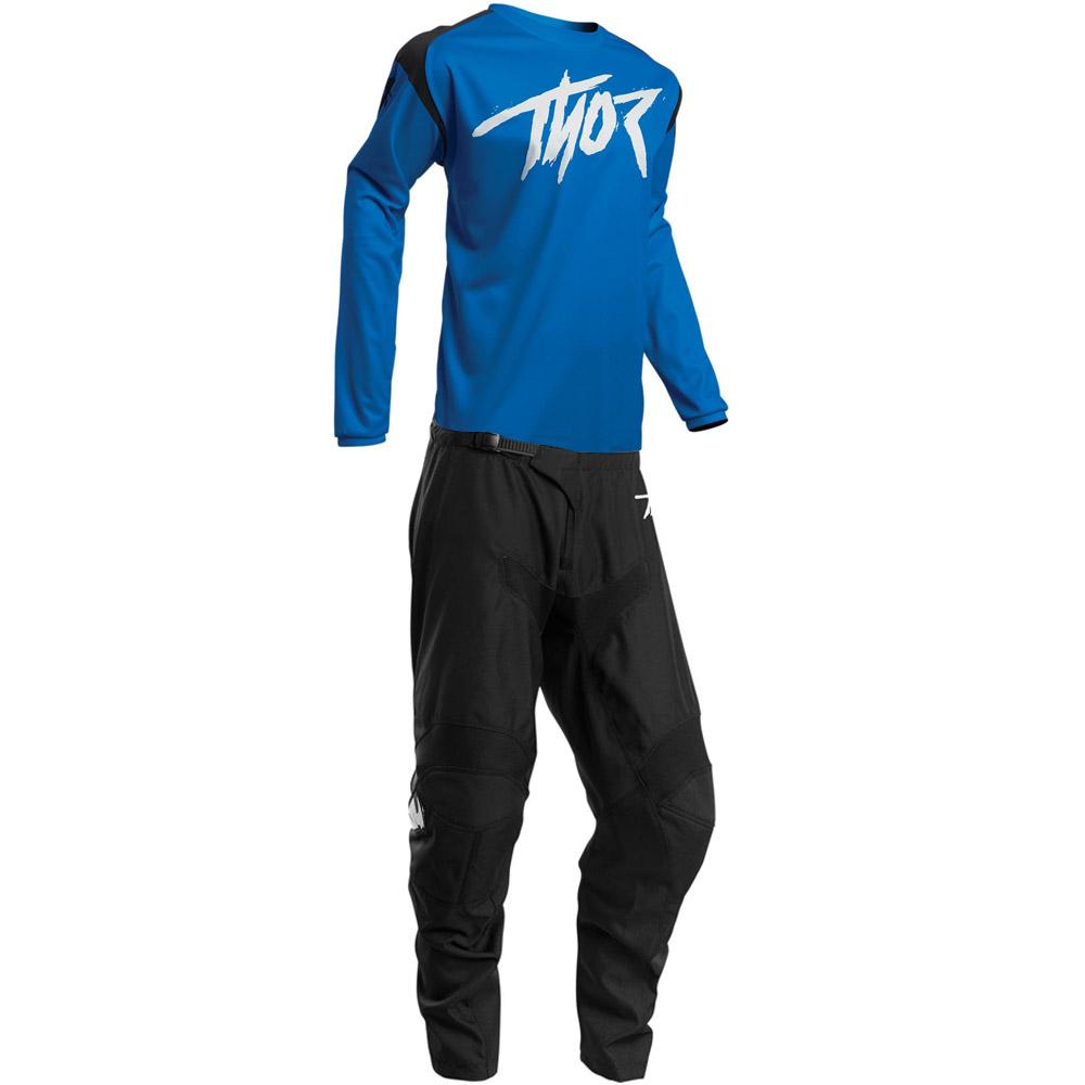 Thor Sector Link Blue джерси и штаны для мотокросса